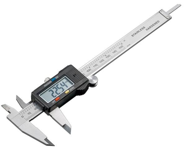 Digitale Feinmechaniker Stahl Schieblehre mit LCD Display Messschieber 0-150mm