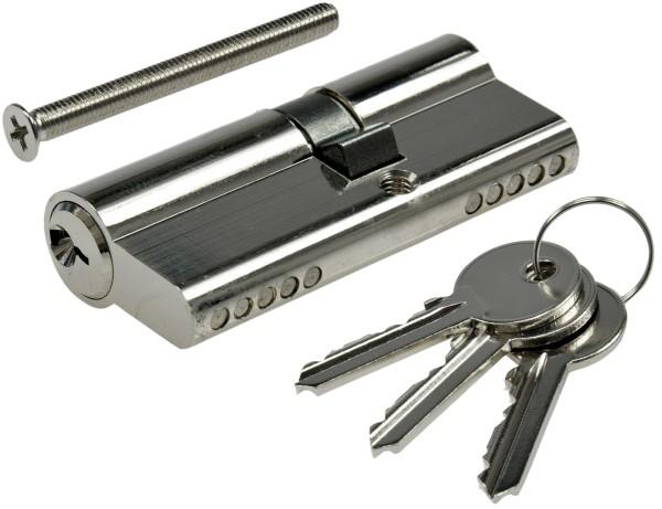 Schließzylinder 70mm (40+30mm) Profil-Zylinder 3 Bartschlüssel