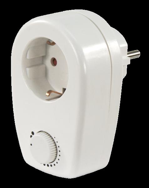 Steckdose mit Dimmer Steckdosen Adapter Zwischenstecker Dimmer Helligkeitsregler