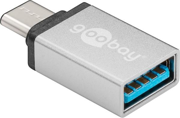 USB C Adapter 3.1 Stecker > USB 3.0 Buchse Ladeadapter für Handy Smartphone Mac