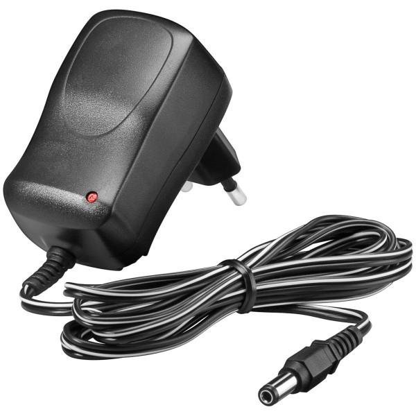 9 Volt Netzteil DC 15 Watt 0,66 Ampere Adapter Stecker 5,5mm x 2,1mm Power LED