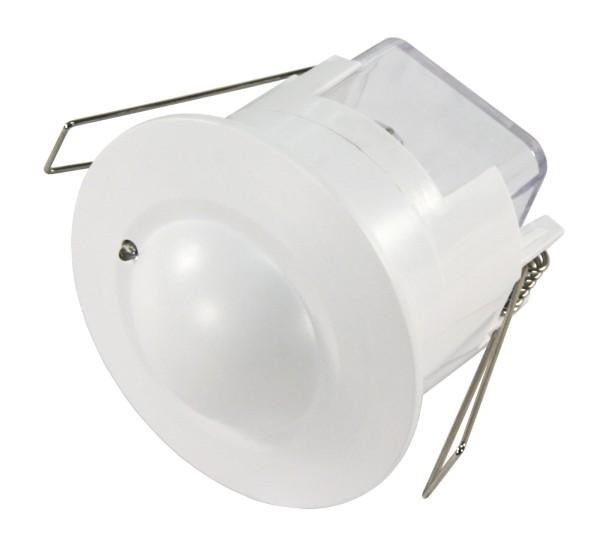 Hochfrequenz (HF) 360° Bewegungsmelder max. 8m IP20 weiß Unterputz LED geeignet