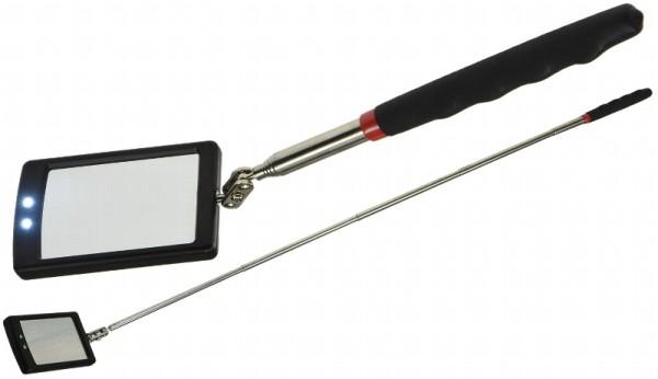 Teleskop Inspektion Spiegel mit LED Beleuchtung Auto Werkzeug Schweißspiegel