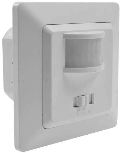 MILOS Bewegungsmelder 160° weiß matt 250V~ 400W inkl. Rahmen LED geeignet
