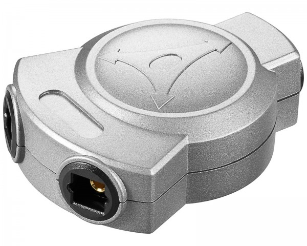 Toslink Audio Y Adaper Splitter Verteiler Y Weiche Kupplung Buchse SPDIF 1 auf 2