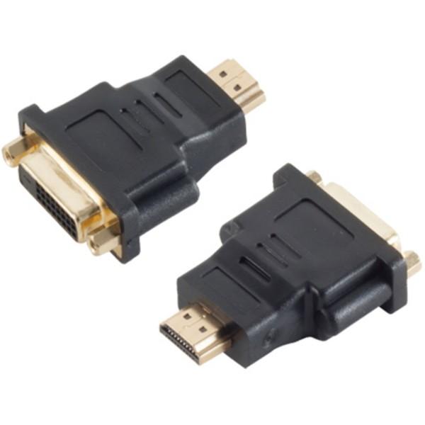 Monitor TV Video Adapter HDMI Stecker auf DVI-D 24+1 Kupplung Buchse HDTV