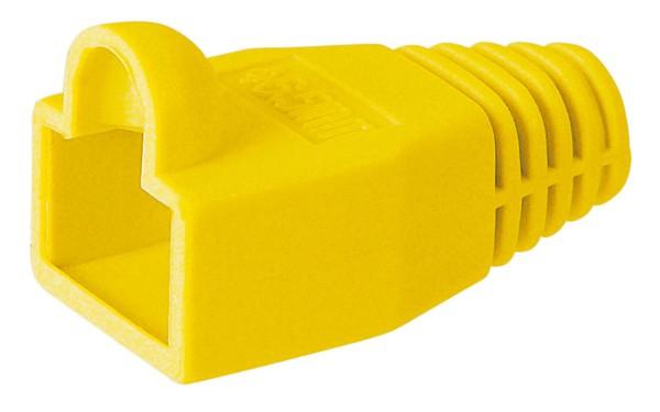 10 Stück CAT5 Knickschutztüllen für RJ45 Stecker 8P8C Tülle Tüllen in gelb