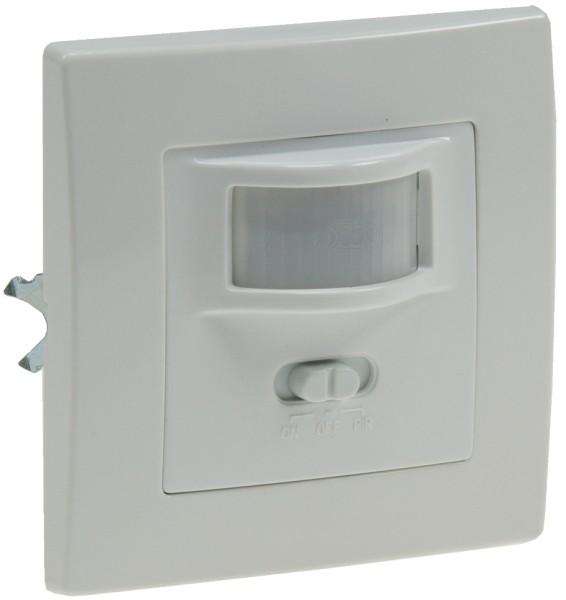 Infrarot Bewegungsmelder Unterputz Wand Einbau 160° bis 9m 1-500W LED Lampen