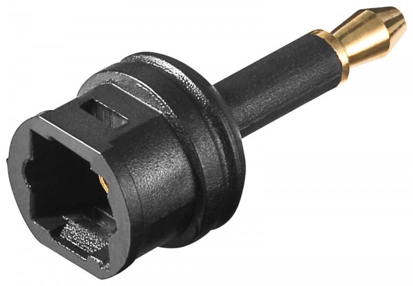 Goobay® Adapter Toslink Opti Opto ODT Buchse an 3,5 mm Mini Stecker SPDIF SP