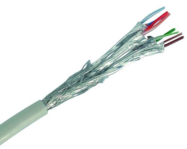 0,49€/m 500m Patchkabel CAT6 S/FTP halogenfrei PIMF RJ45 500 m Netzwerk Kabel