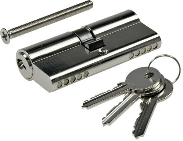 Schließzylinder 70mm (35+35mm) Profil-Zylinder 3 Bartschlüssel