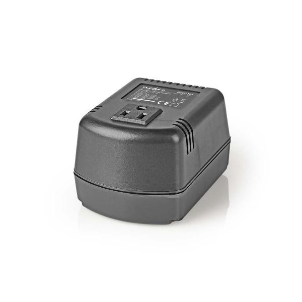 Spannungswandler für USA Geräte Reiseadapter 220V zu 110V 100W Strom Netzteil