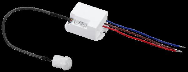 Mini Bewegungsmelder 360° Decke Unterputz Einbau PIR Sensor für LED ok 230V IP20