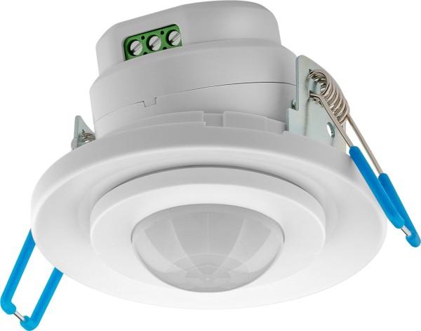 360° Aluminium Decken Einbau Bewegungsmelder weiß LED geeignet 1-1200W IP20
