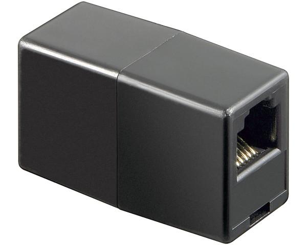 Goobay® Telefon Kupplung RJ11 Buchse > RJ11 Buchse Adapter 1F > 1F 6P6C