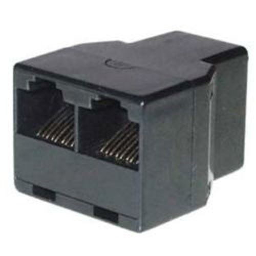 RJ45 Y Adapter Netzwerk Splitter Doppler Cat5 Cat6 Lan Kabel Verteiler Ethernet