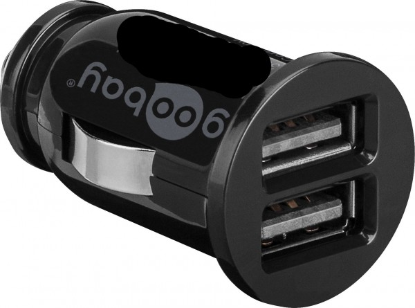 Dual Auto KFZ USB Ladegerät 2* Buchse 3.1 Ampere Ladeadapter Zigarettenanzünder