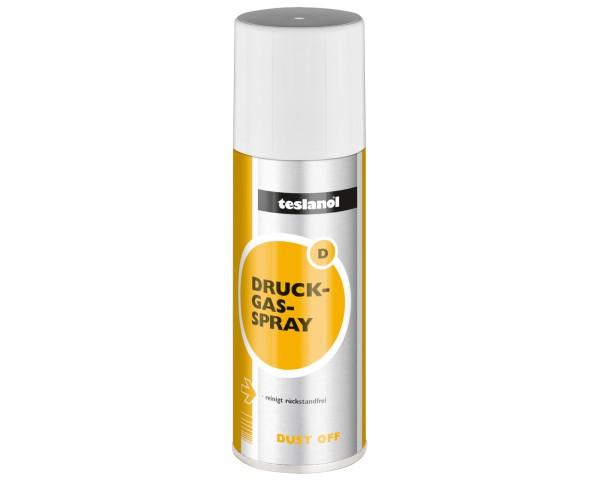 Teslanol D Dust Off Druckluft Spray Druckgas zur Reinigung + entstauben 200ml