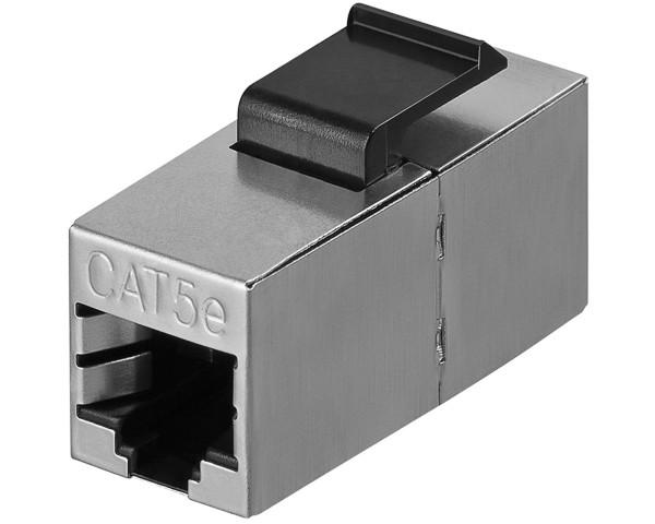 CAT5e KeyStone Jack Modul Kupplung STP 2x RJ45 für Patchkabel Netzwerkkabel LAN