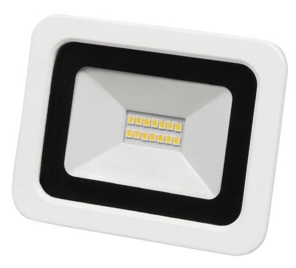 LED-Außenstrahler McShine SMD-Slim 10W 700Lumen 3000K warmweiß IP44