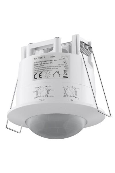 360° Bewegungsmelder IP20 für Deckeneinbau 6m 10sec-7min LED geignet ab 1 Watt