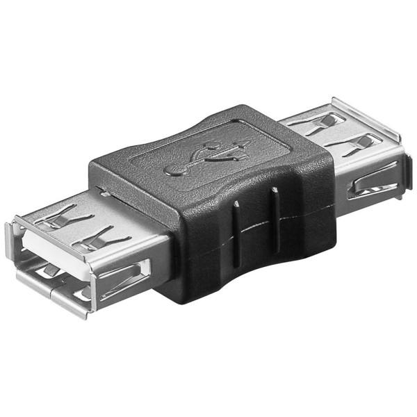 USB 2.0 Adapter Verbinder 2* Buchse 2* Kupplung A auf A 480MBit/s Verlängerung