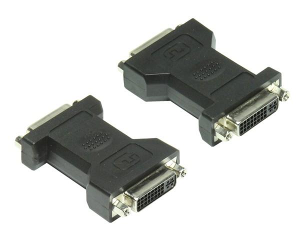 1 Stück DVi Adapter beidseitig DVI-I Buchse 24+5 2* Kupplung Verbinder Weiche