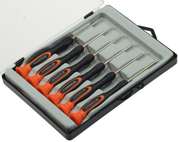 Feinmechaniker Schraubendrehersatz 6 Stück Torx Schraubendreher Torx Schlüssel