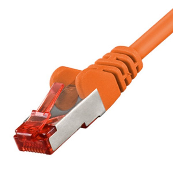 CAT6 CAT.6 Patchkabel S/FTP orange Netzwerkkabel 15m