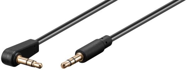1m 3,5mm Stereo Klinken Audio Kabel Winkel Klinke Kabel AUX für Auto Handy MP3