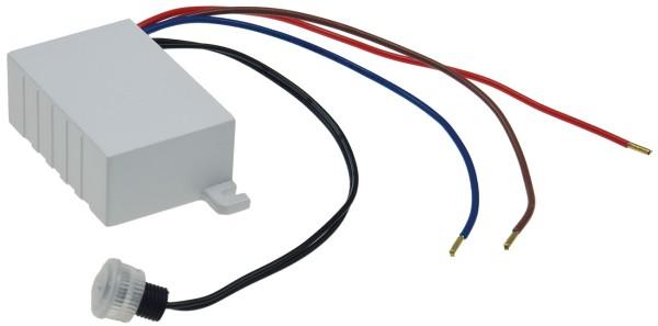 Mini Dämmerungs Einbau Sensor 230V IP44 einstellbarer Deckeneinbau Lichtsensor