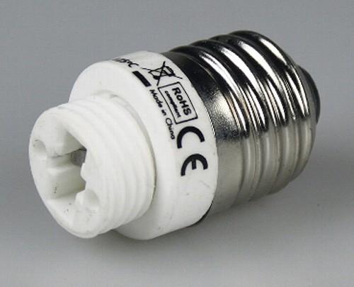 1* Lampensockel Adapter von Sockel E27 > G9 Fassung Leuchtmittel LED kompatibel