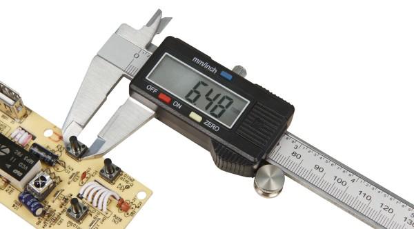 Digitaler Messschieber Messlehre Schieblehre mit LCD Display Caliper 0-150 mm
