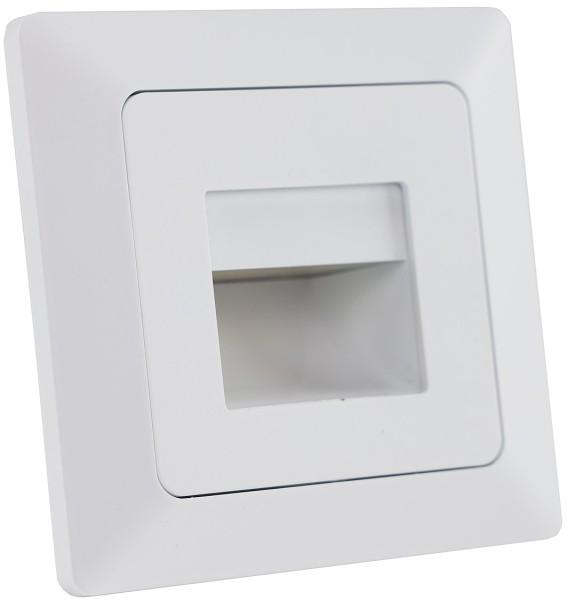 MILOS LED-Einbauleuchte COB weiß matt 80x80mm 3000k warmweiß 110Lumen