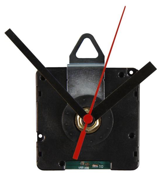 Funk Uhrwerk Quarzuhr + 3 verschiedene Zeigersätzen Verwendung als Funk Wanduhr