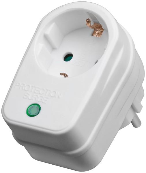 1* Goobay® Strom Überspannungsschutz Steckdose Blitzschutz 230V Kindersicherung