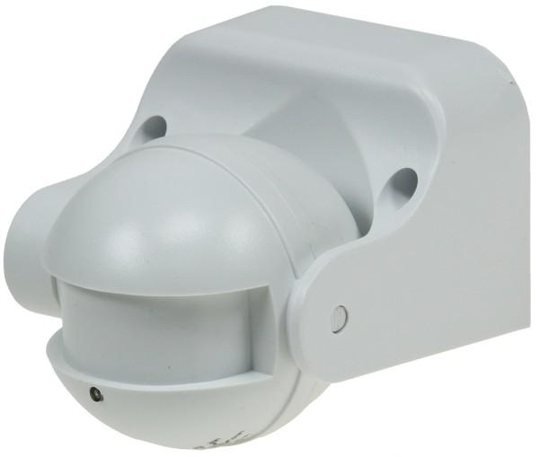 HF Bewegungsmelder 180° LED geeignet weiß IP44 Außen Mikrowellen 1-1200W 5-15m