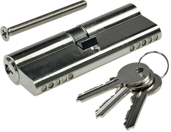 Schließzylinder 80mm (40+40mm) Profil-Zylinder 3 Bartschlüssel