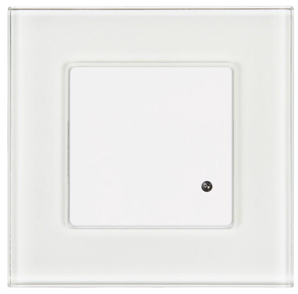 Mikrowellen Bewegungsmelder Flair 180° 230V 200W mit Glasrahmen 5-15m IP20 230V
