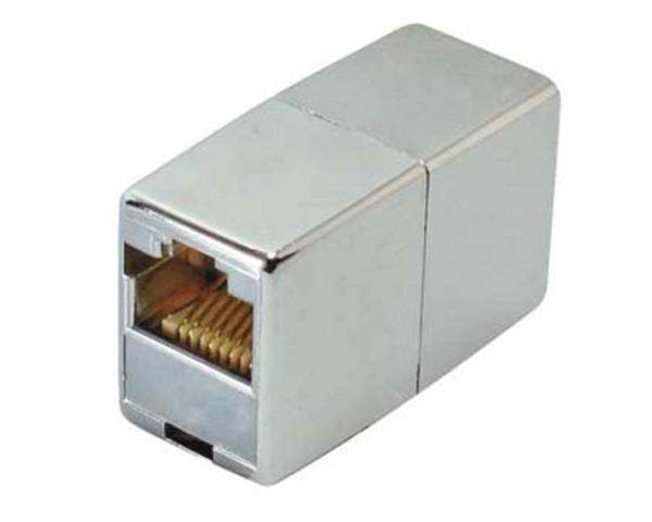 CAT6 Modular Kupplung Adapter Netzwerk Buchse Patchkupplung 1:1 Metall