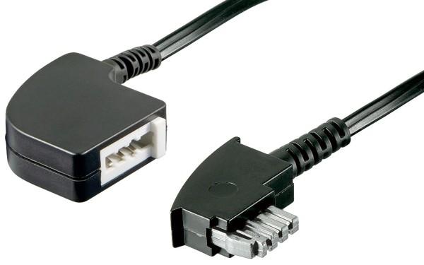 10m Telefon Kabel TAE N Verlängerung für Fax Modem Faxkabel Modemkabel Buchse
