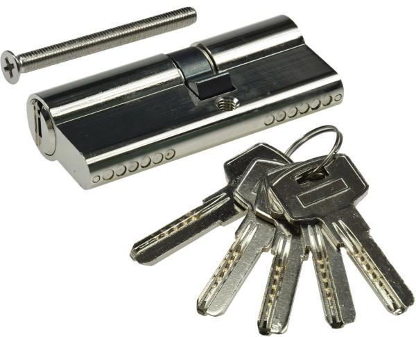 Schließzylinder 70mm (40+30mm) Profil-Zylinder 5 Sicherheits-Schlüssel
