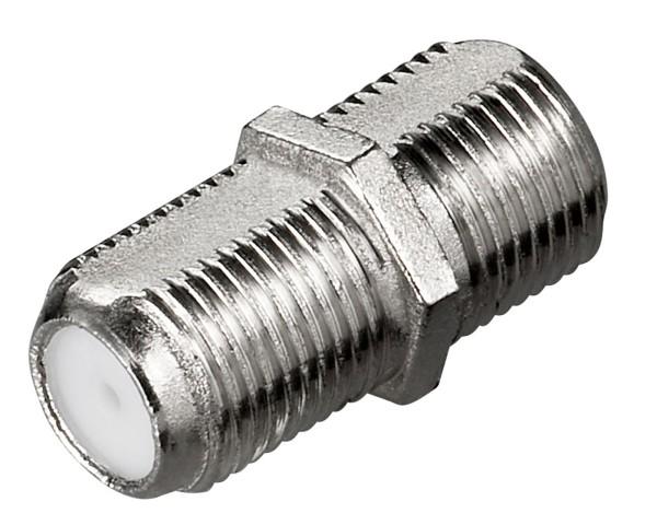 Goobay® F-Kupplung > F-Buchse SAT TV Verbinder Koaxial Kabel Antenne