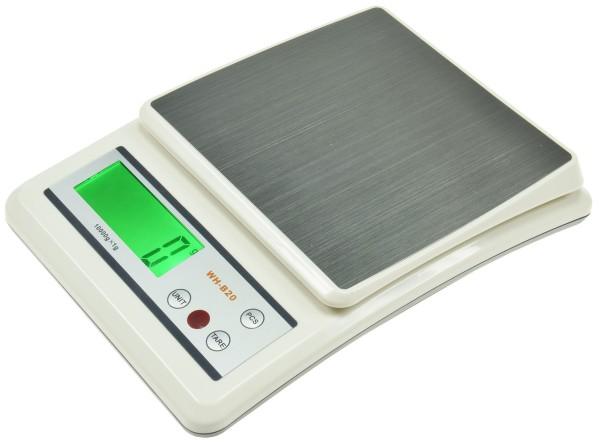 LCD Waage Digital Feinwaage Taschenwaage 0 bis 10kg ±1g Goldwaage Präzisionwaage