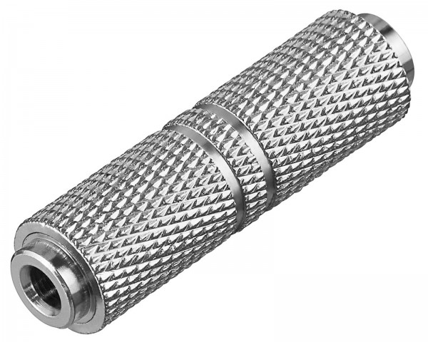 Goobay® Audio Adapter Klinkenkupplung 3,5 mm Stereo Klinke Kupplung