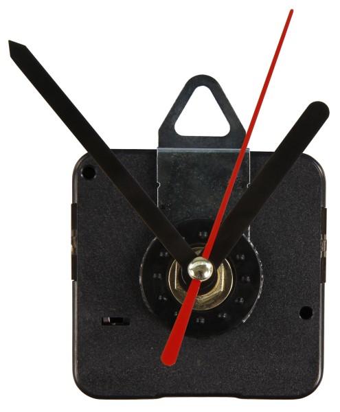 Quarz Uhrwerk aus Kunststoff Quarzuhr Wanduhr +3 Metall Zeigersätzen springend