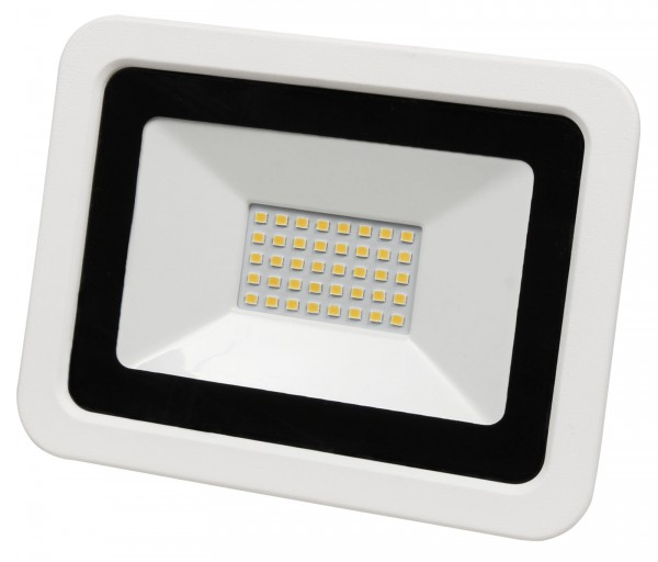 LED-Außenstrahler McShine SMD-Slim 30W 2100Lumen 3000K warmweiß IP44