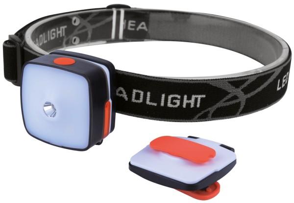 LED Stirnlampe Camping Kopflampe 3W Cree LED + 4xSMD 150 Lumen Stirnleuchte USB
