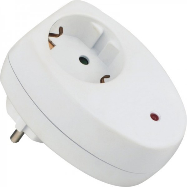 Strom Überspannungsschutz Steckdose 230V + Blitzschutz + Kindersicherung + LED