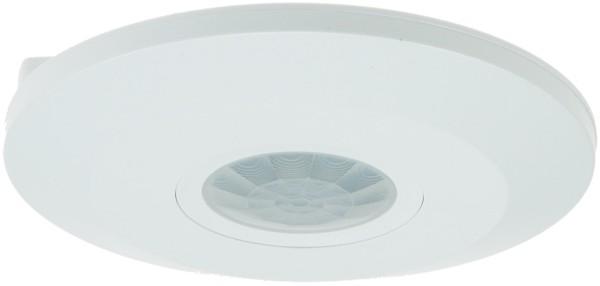 Decken Bewegungsmelder CBM-Flat 360° 230V 1-2000W max. 6m LED geeignet weiß